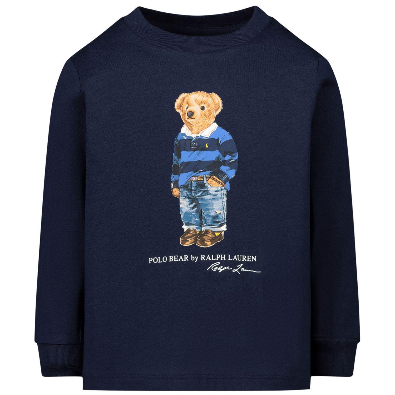 Picture of Ralph Lauren 805681 kids t-shirt navy