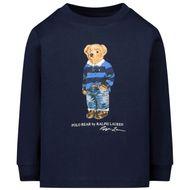 Afbeelding van Ralph Lauren 805681 kinder t-shirt navy