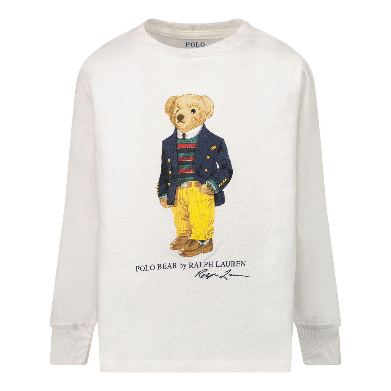 Picture of Ralph Lauren 852014 kids t-shirt white