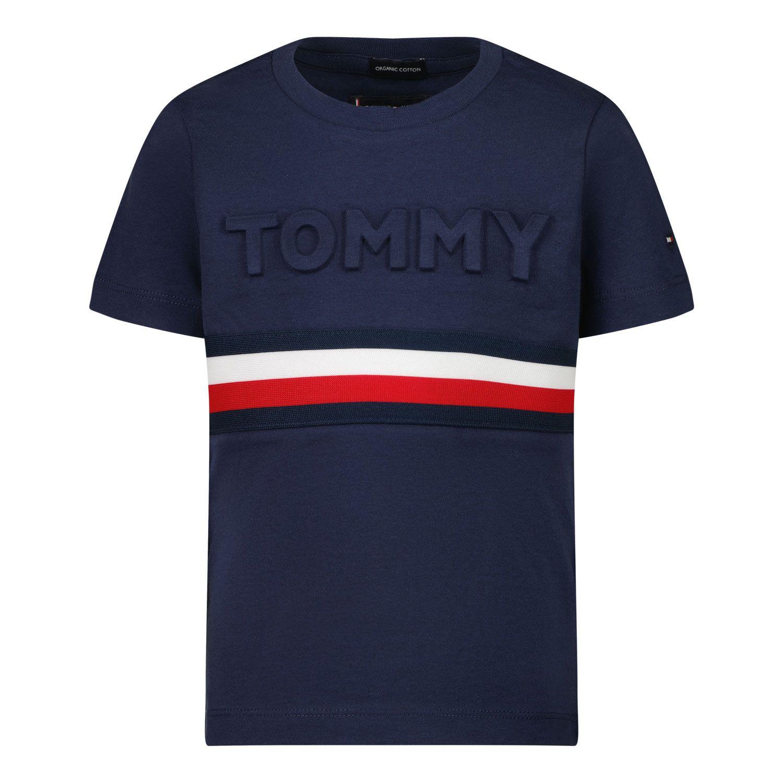 Bild von Tommy Hilfiger KB0KB06320 B Baby-T-Shirt Marine