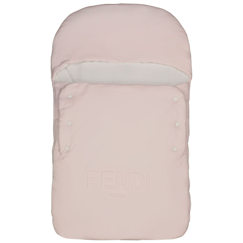 Afbeelding van Fendi BUJ193 babyaccessoire licht roze