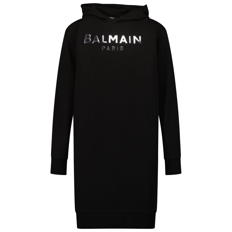 Afbeelding van Balmain 6P1210 kinderjurk zwart