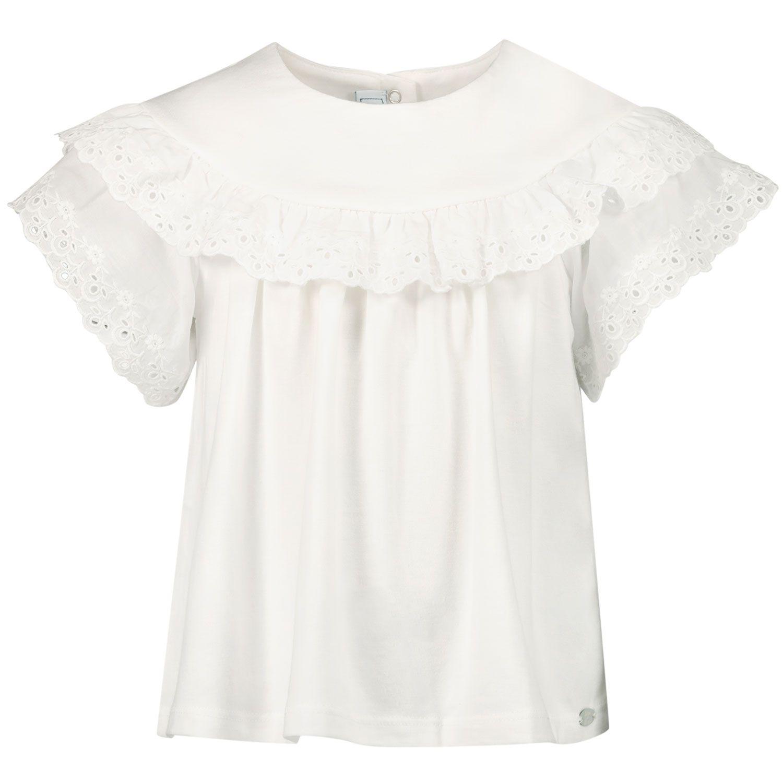 Picture of Tartine et Chocolat TS10031 baby shirt white