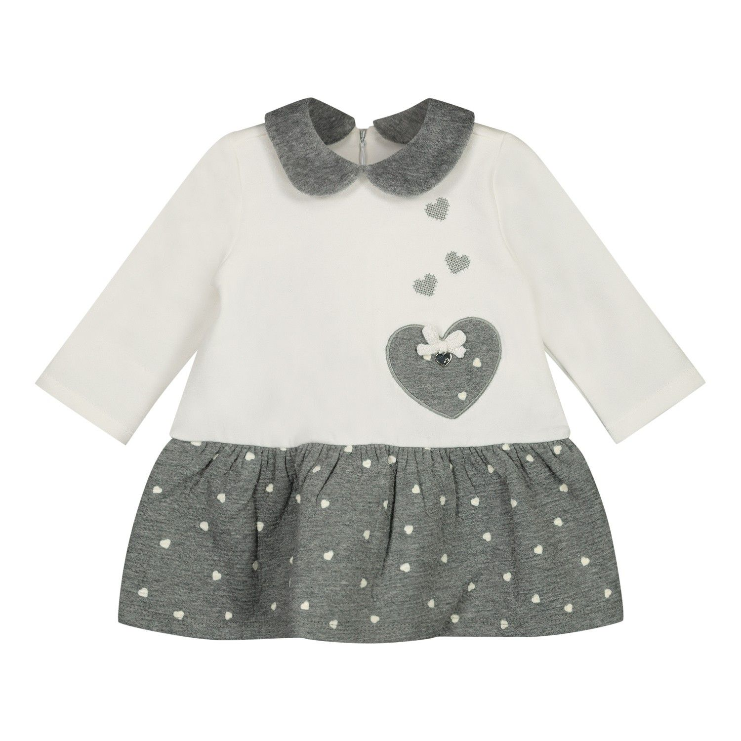 Picture of Mayoral 2854 baby dress off white