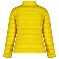 Picture of Moncler 1A12710 kids jacket yellow