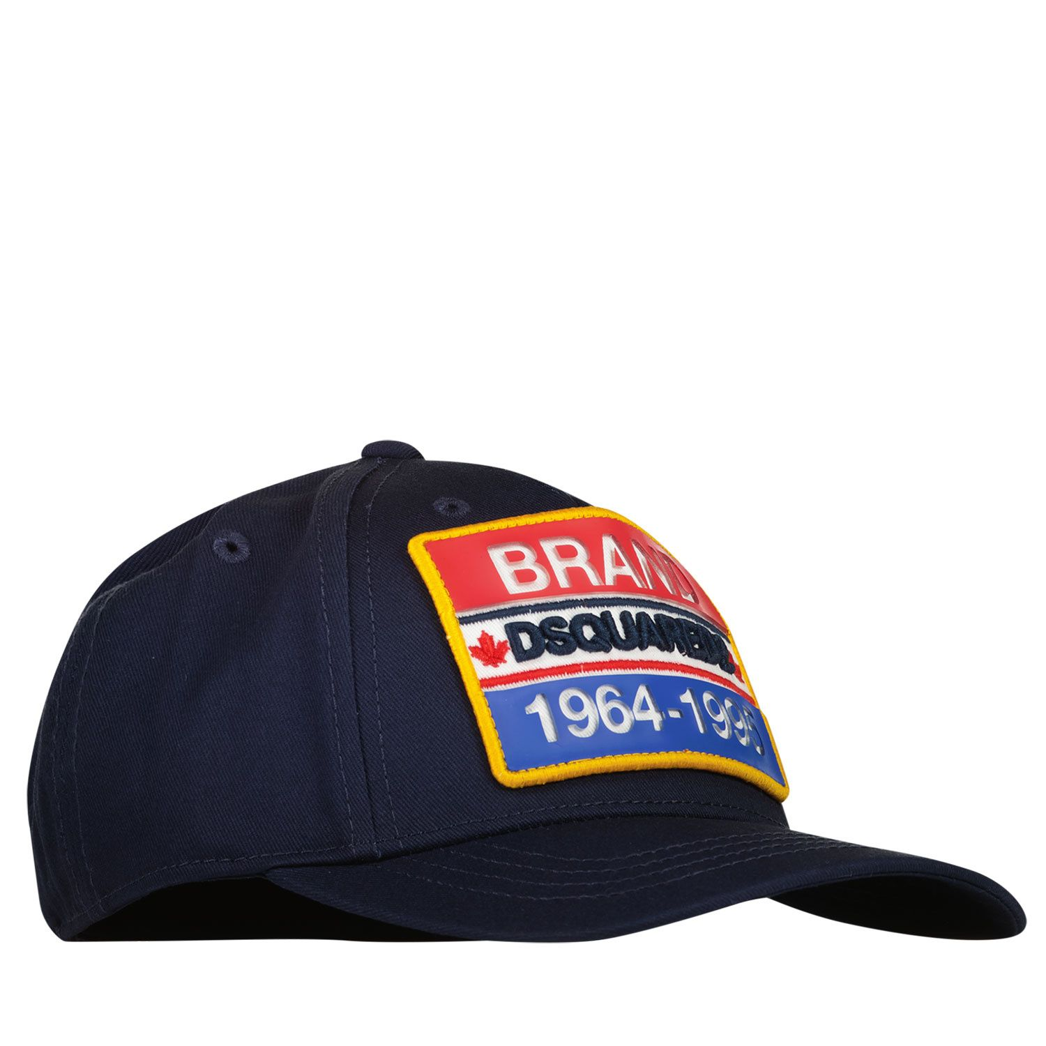 Picture of Dsquared2 DQ0210 baby hat navy