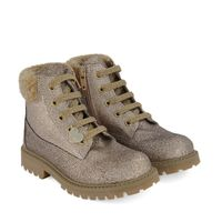 Picture of MonnaLisa 8C6007 kids boots gold