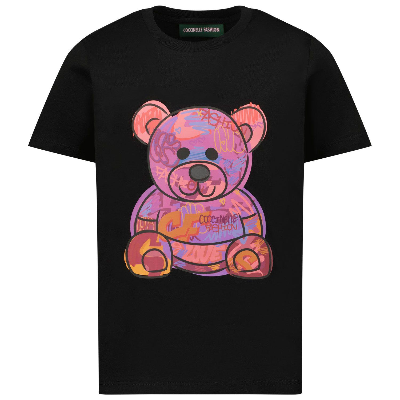 Picture of Coccinelle COCC1 kids t-shirt black