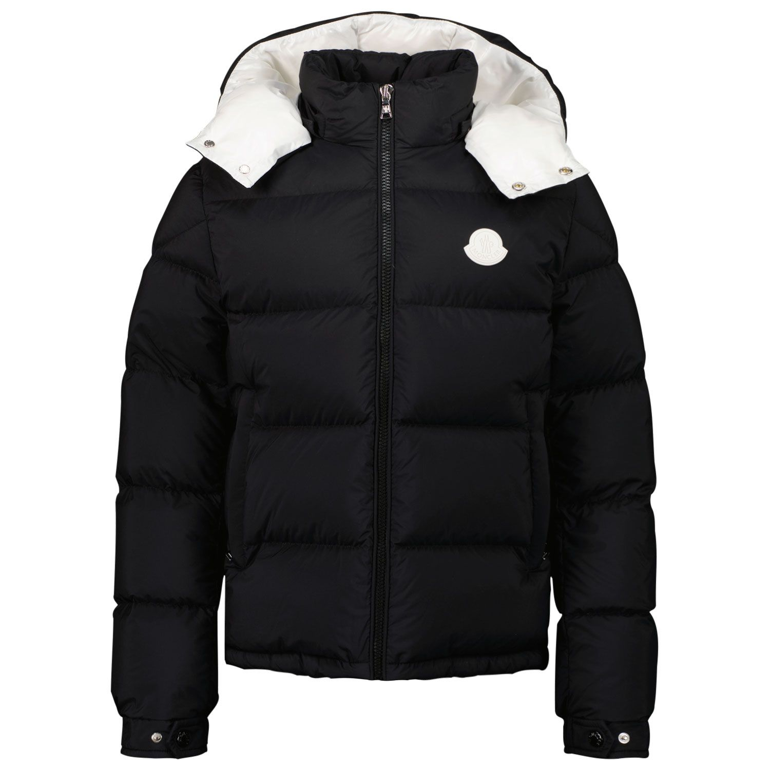 Picture of Moncler 1A53F20 kids jacket black