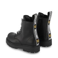 Picture of Moschino 68919 kids boots black