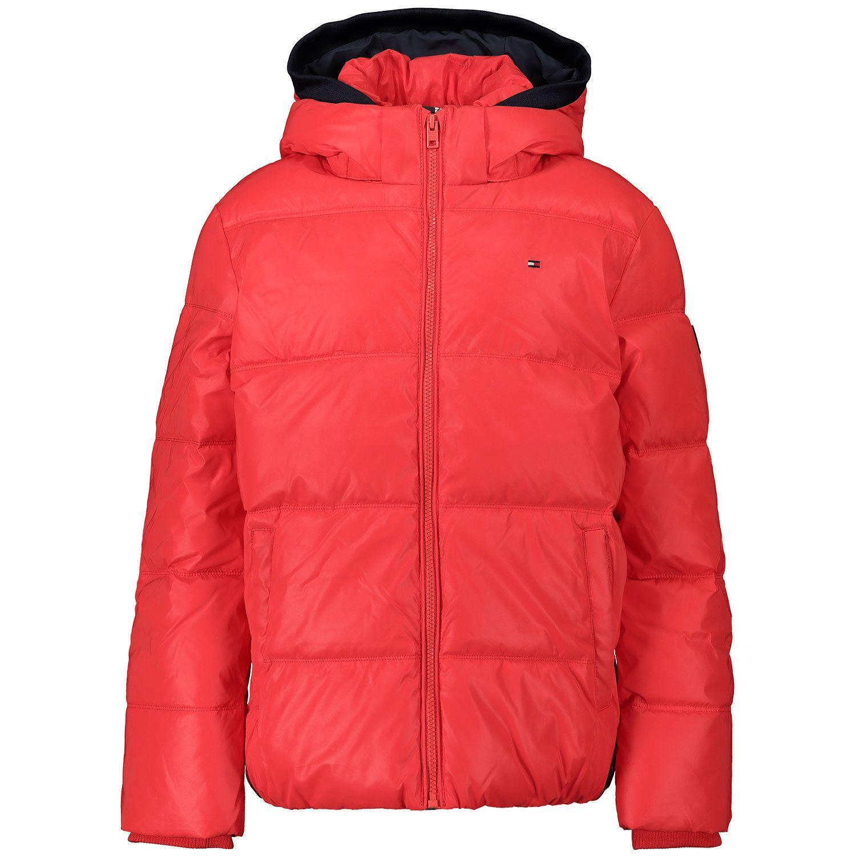 Picture of Tommy Hilfiger KB0KB05883 kids jacket red