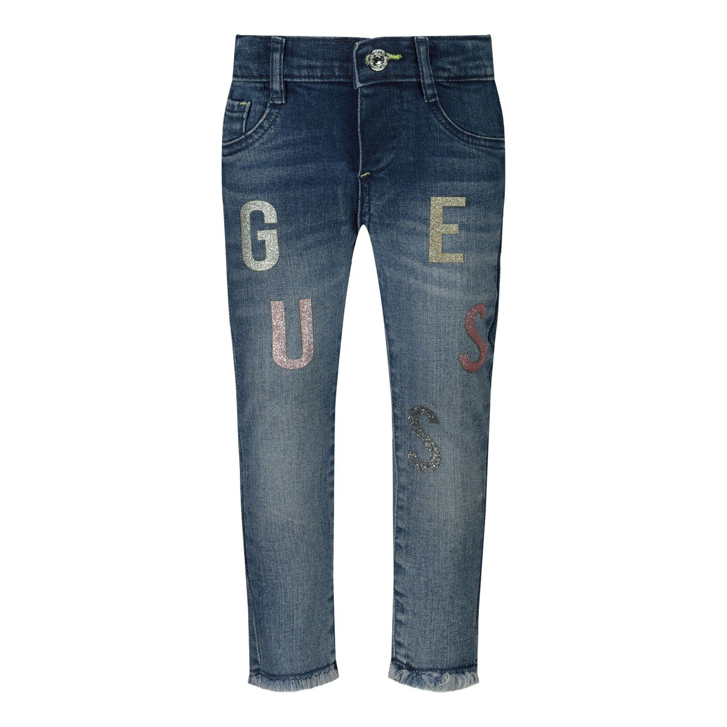 Picture of Guess K0YA01/D3QJ0B baby pants jeans