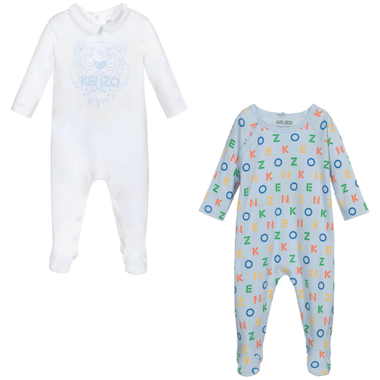 Bild von Kenzo KR99543 Babystrampelanzug Hellblau