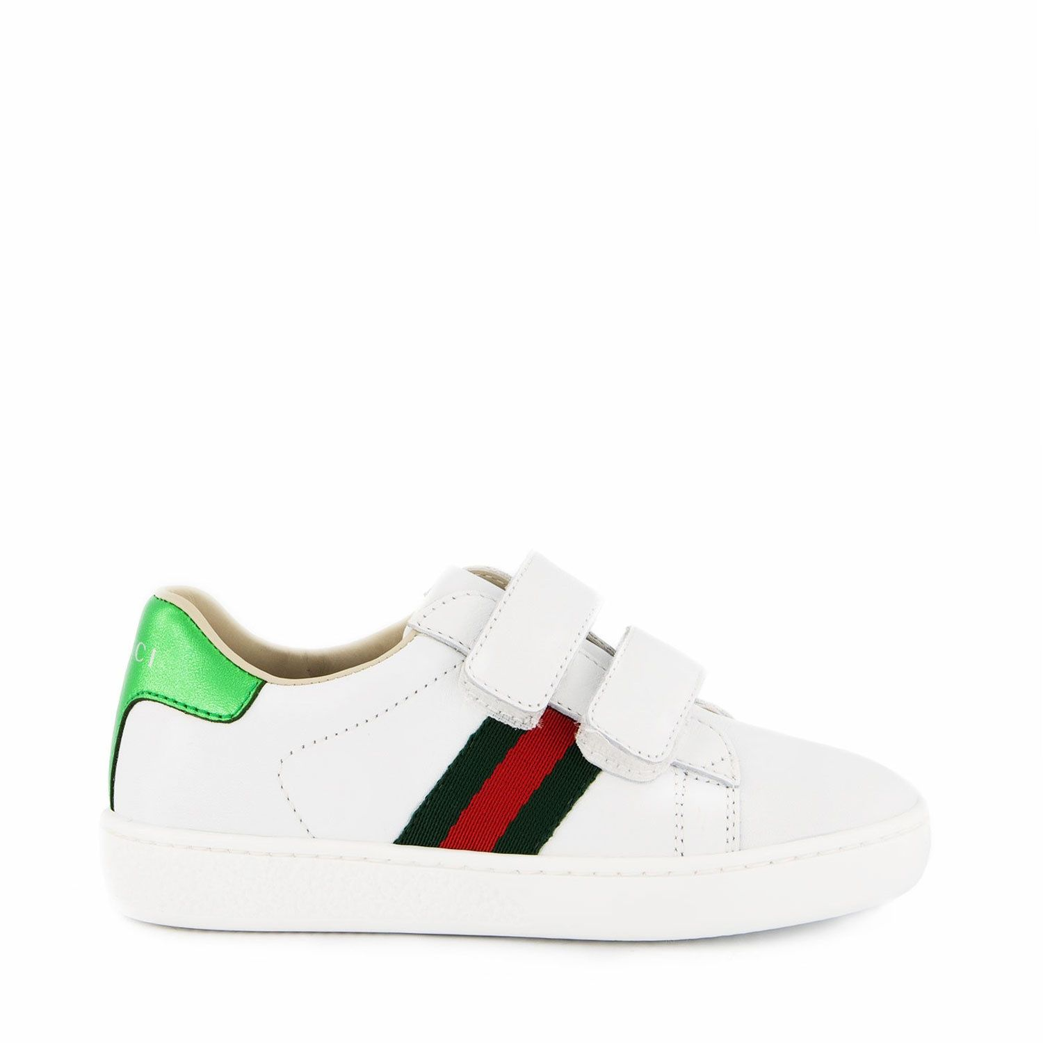 Picture of Gucci 455447 CPWP0 kids sneakers white