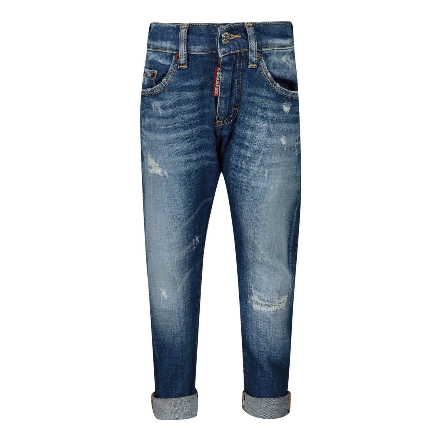 Picture of Dsquared2 DQ01TC D005H baby pants jeans