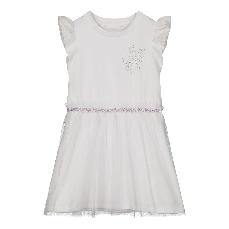 Bild von Guess K1RK07 K Babykleid Weiß