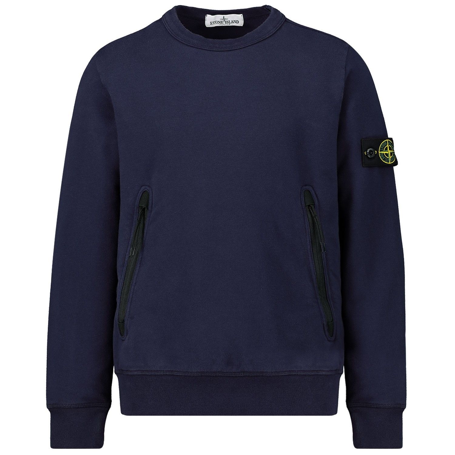Picture of Stone Island MO731662542 kids sweater navy