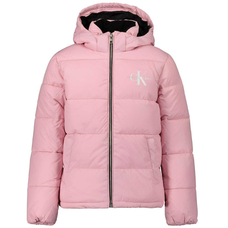 Picture of Calvin Klein IG0IG00593 kids jacket light pink
