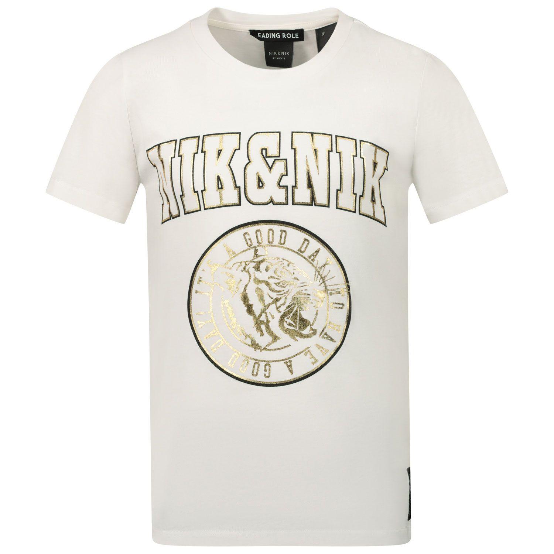 Picture of NIK&NIK G8099 kids t-shirt off white