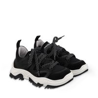 Picture of Dsquared2 65166 kids sneakers black