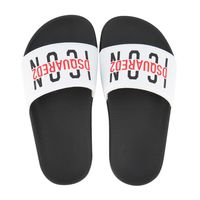 Picture of Dsquared2 67140 kids flipflops white