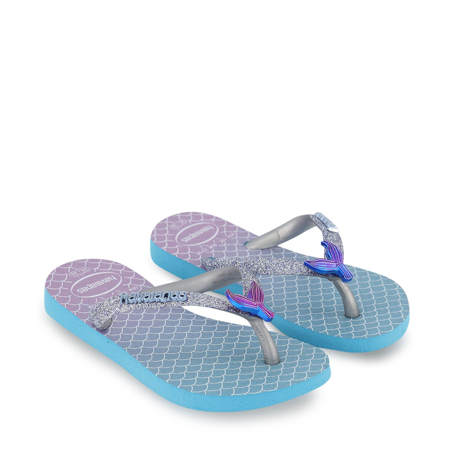 Picture of Havaianas 4146123 kids flipflops blue