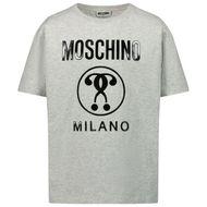 Afbeelding van Moschino HRM02X kinder t-shirt grijs