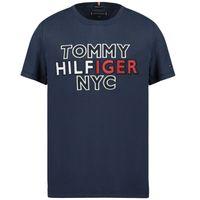 Picture of Tommy Hilfiger KB0KB05848 kids t-shirt navy