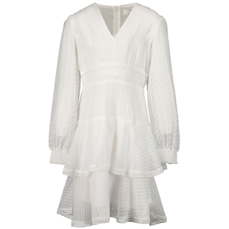Picture of Jacky Girls JG210419 kids dress off white