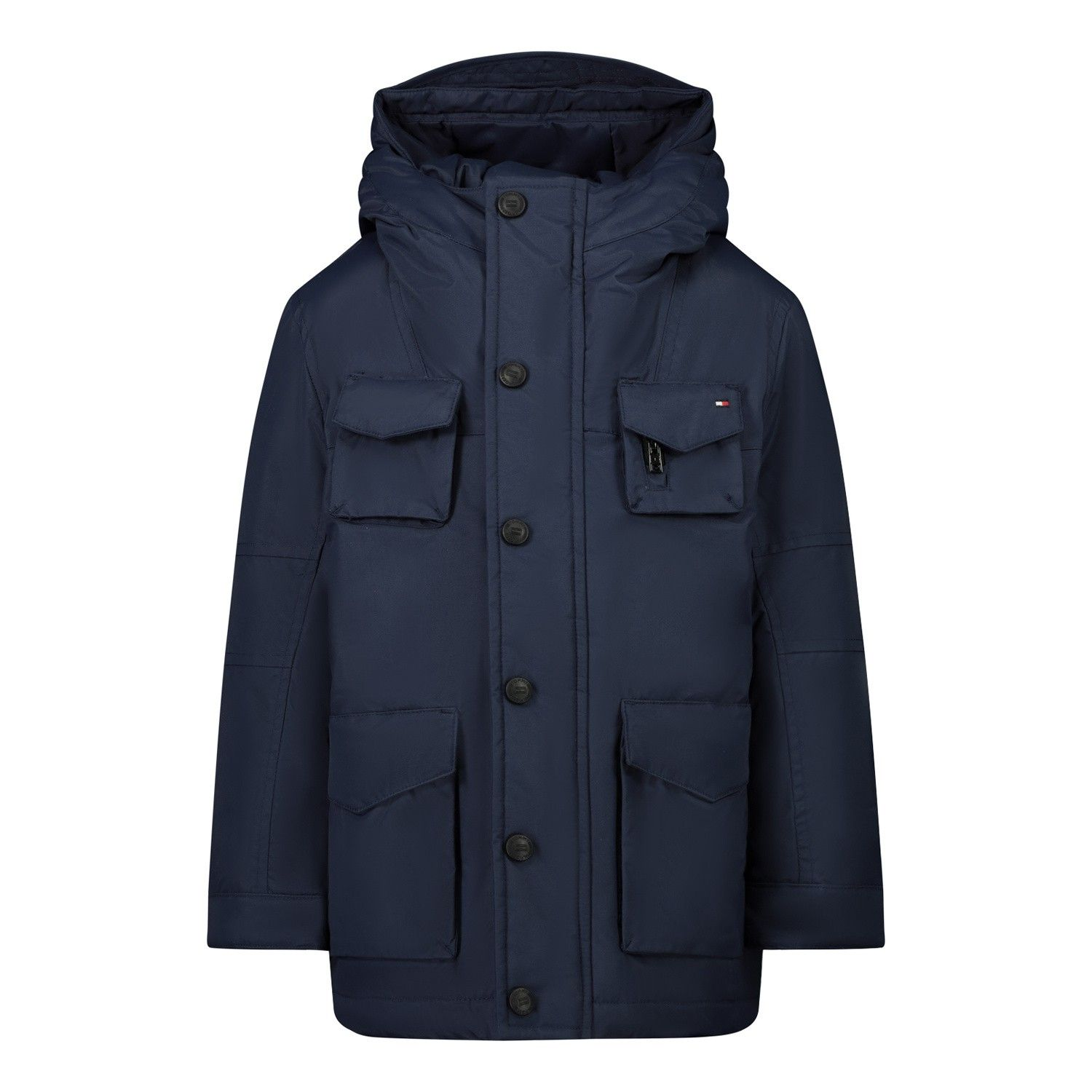 Picture of Tommy Hilfiger KB0KB05889B baby coat navy