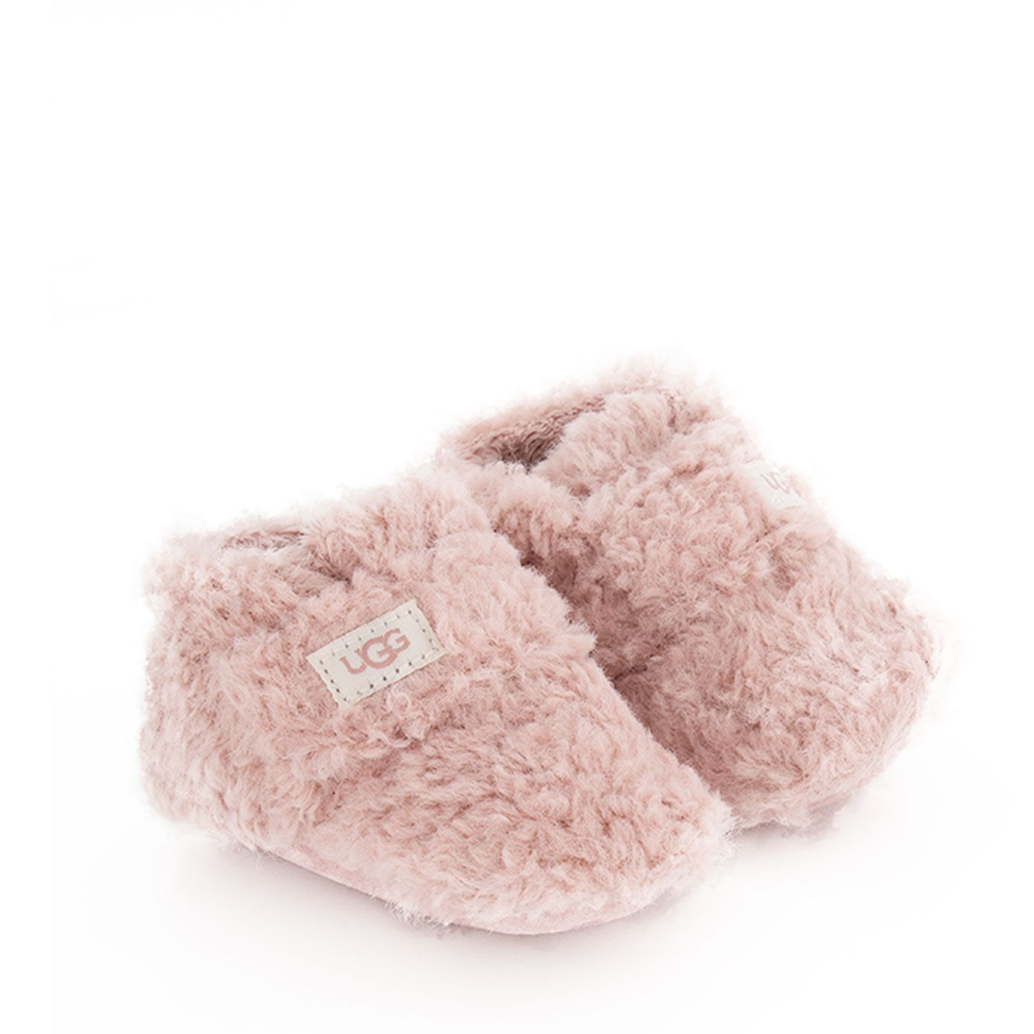 Picture of Ugg 1121045I baby slippers light pink