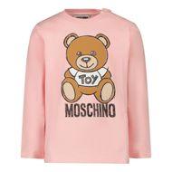 Bild von Moschino MVO000 Baby-T-Shirt Hellrosa