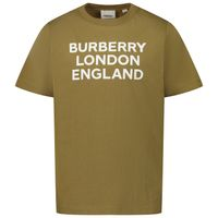 Picture of Burberry 8028808 kids t-shirt army