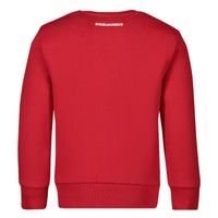 Picture of Dsquared2 DQ042S baby sweater red