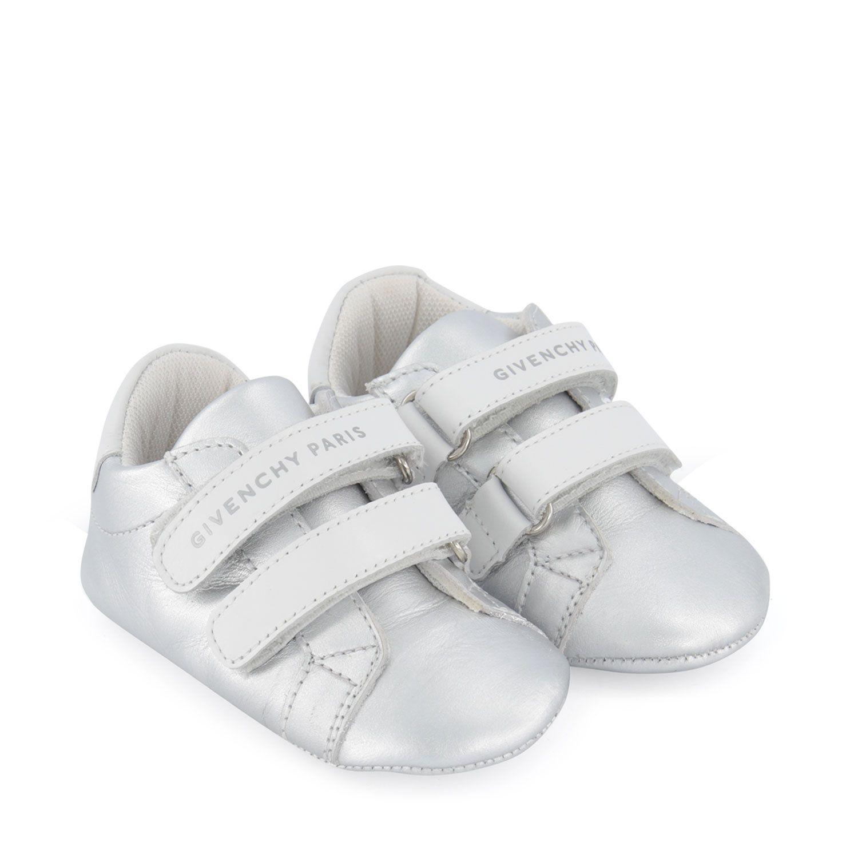 Afbeelding van Givenchy H99027 babyschoenen zilver