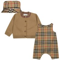 Picture of Burberry 8038457 baby set beige