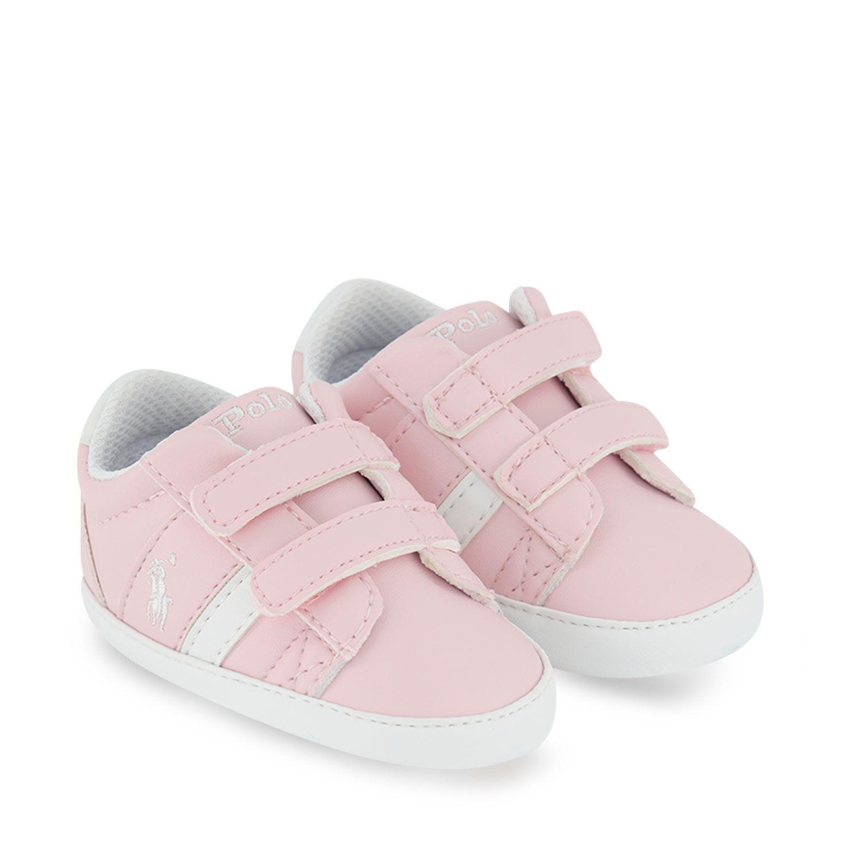 Picture of Ralph Lauren RL100573 baby sneakers light pink