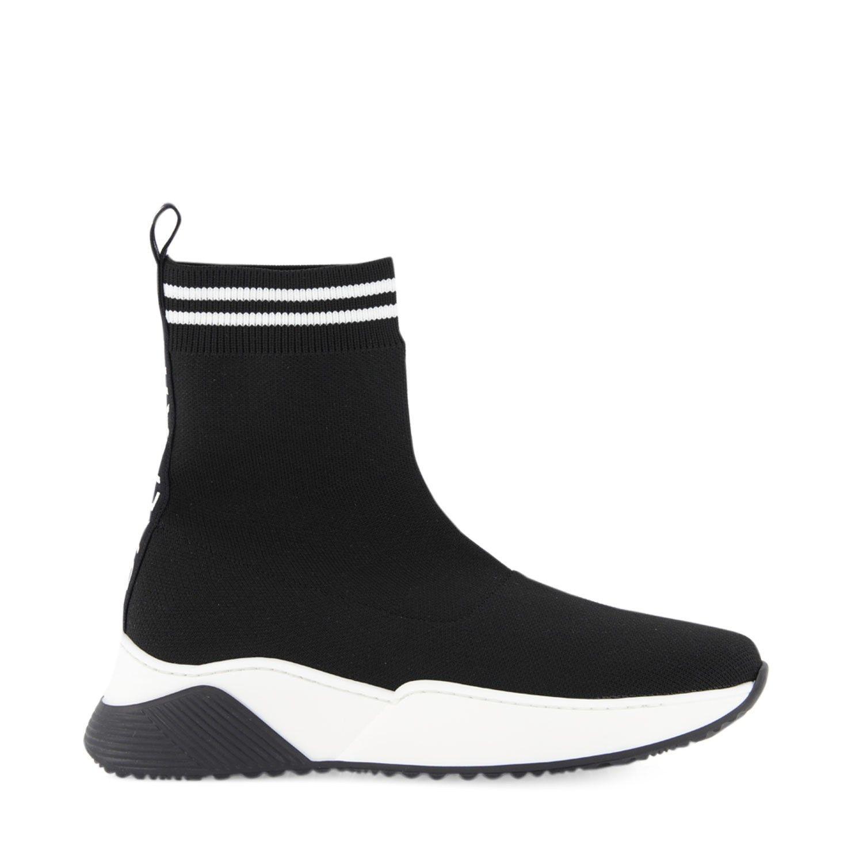 Picture of Balmain 6N0016 kids sneakers black