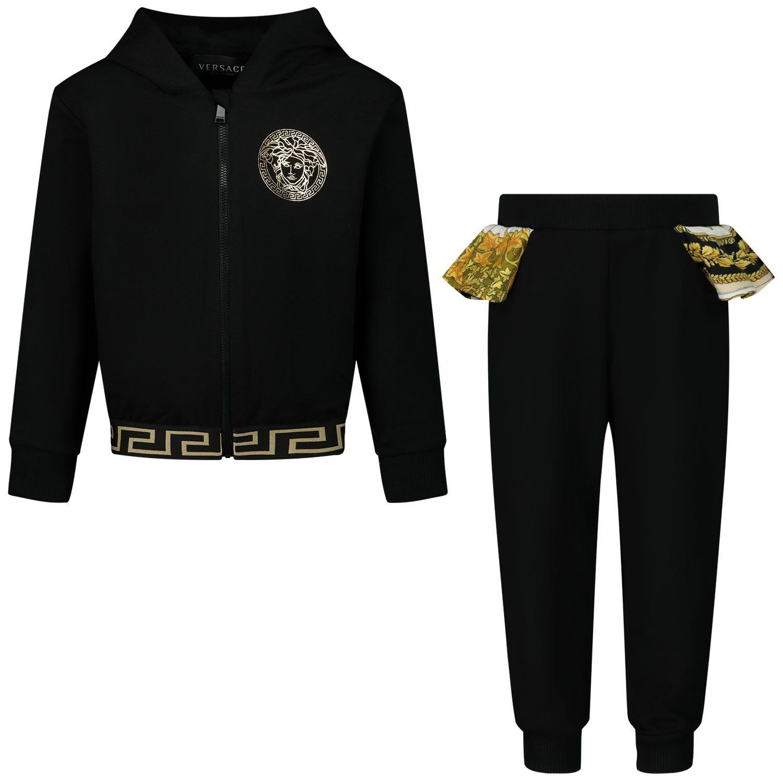 Bild von Versace 1000070 Babyhose Schwarz