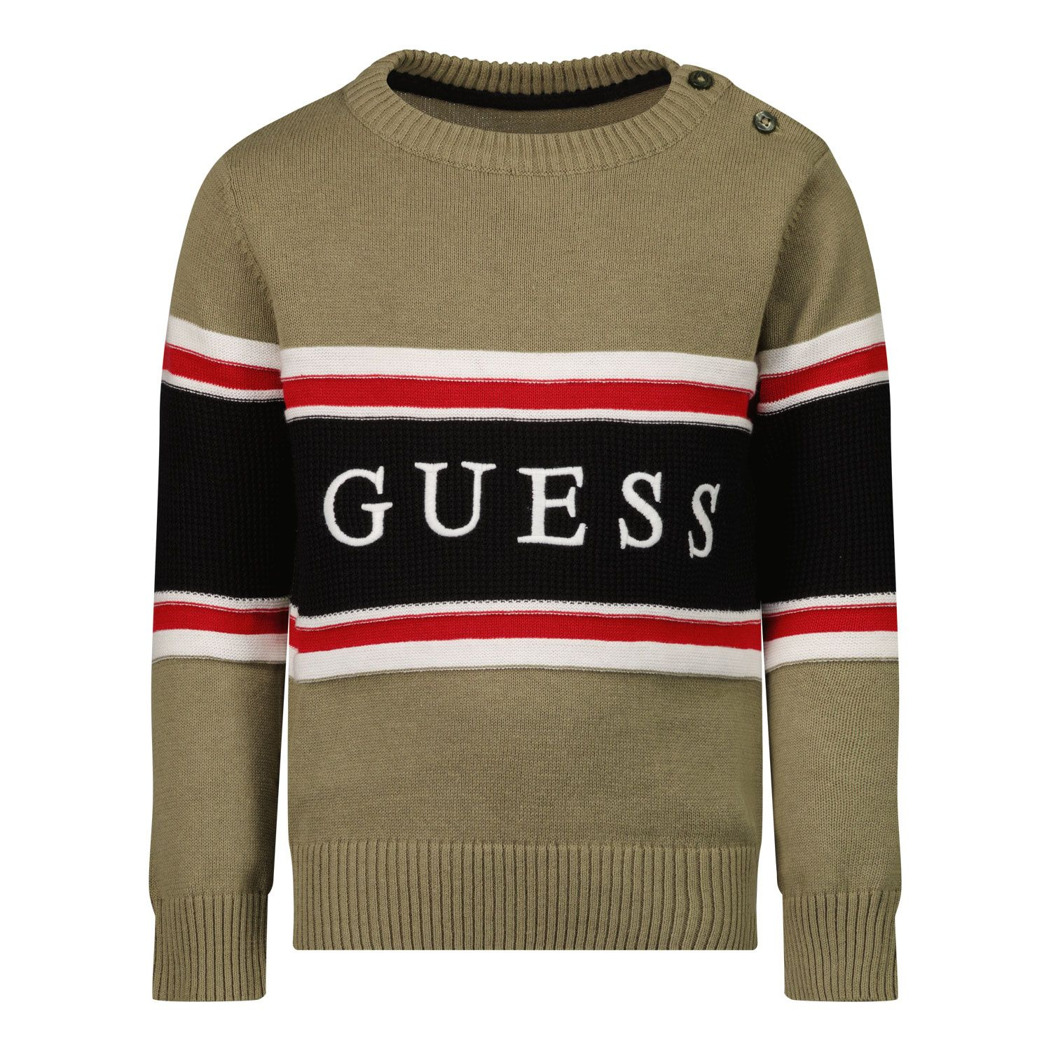 Picture of Guess N1YR00 baby sweater army