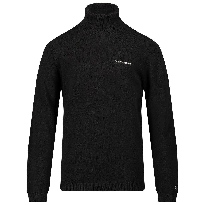 Picture of Calvin Klein IB0IB00673 kids sweater black