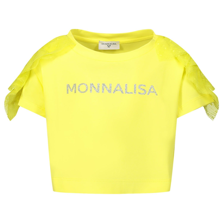 Bild von MonnaLisa 175602AA Kindershirt Gelb
