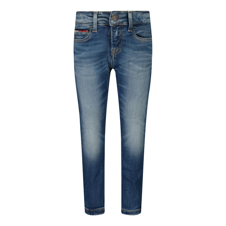 Afbeelding van Tommy Hilfiger KB0KB05793B babybroekje jeans