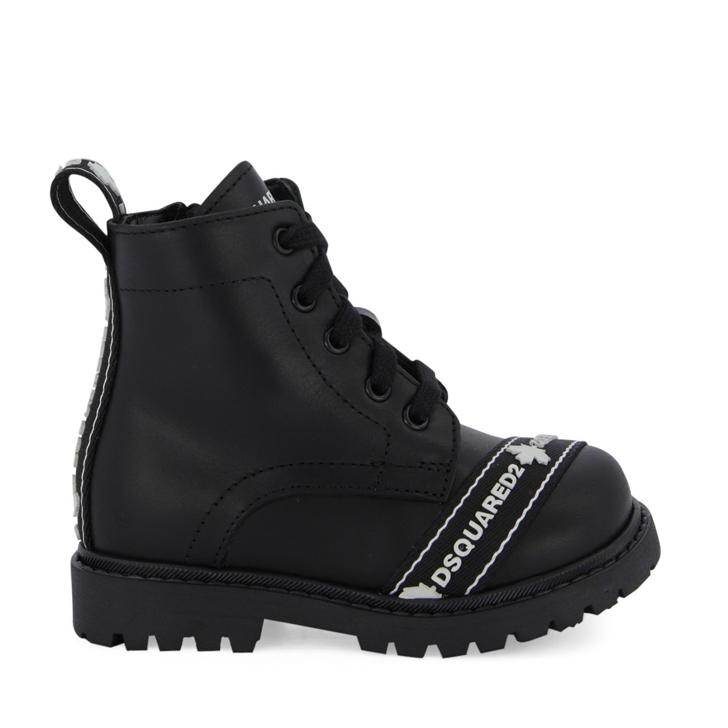 Picture of Dsquared2 65052 kids boots black