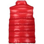 Afbeelding van Moncler 1A12620 kinder bodywarmer rood