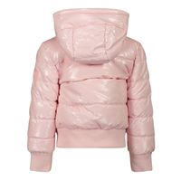 Picture of Guess K1BL00 B baby coat light pink