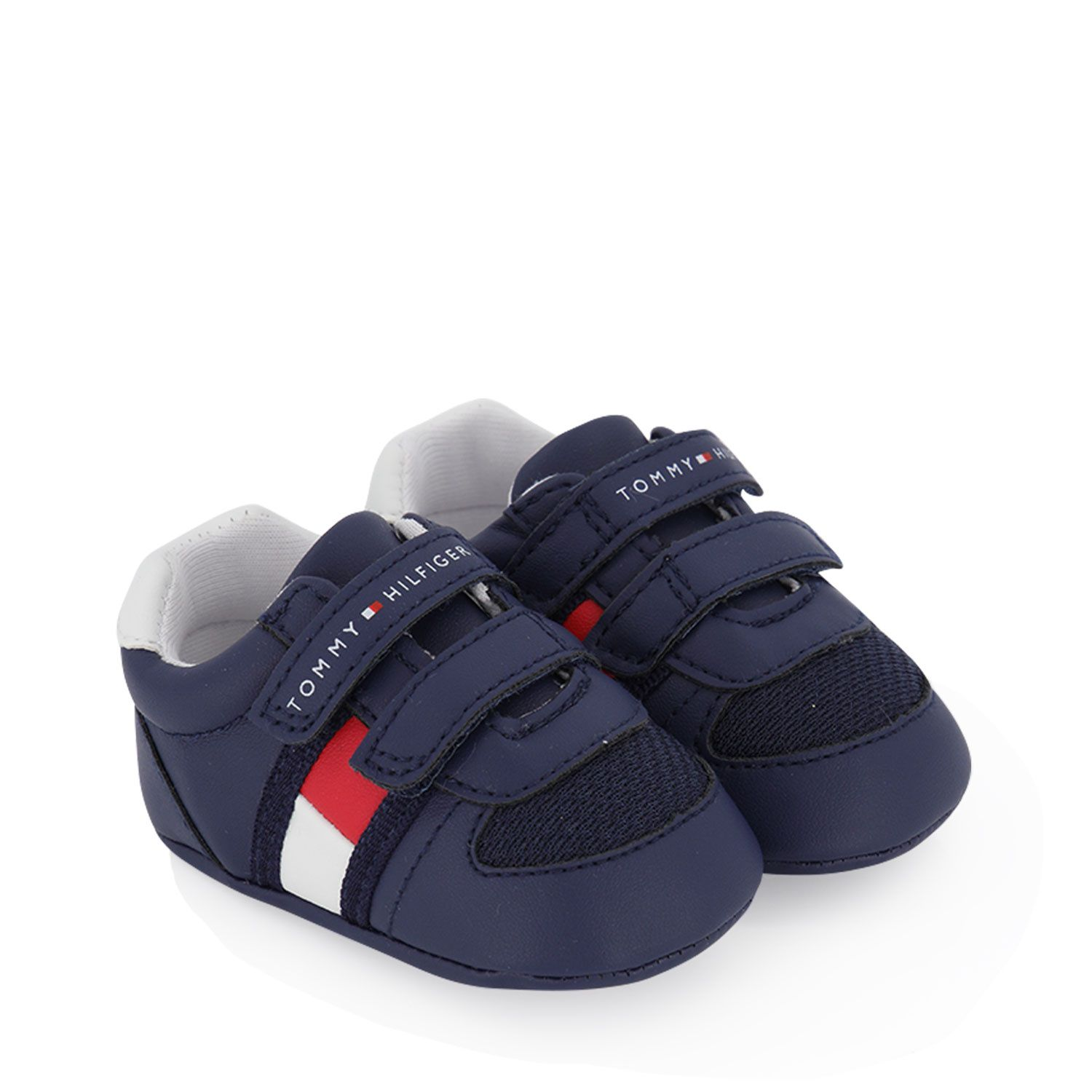 Picture of Tommy Hilfiger 30191 baby sneakers navy