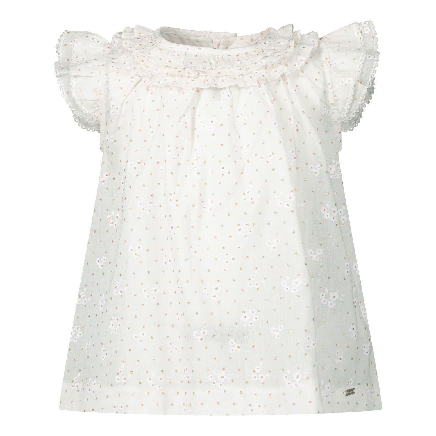 Picture of Mayoral 1169 baby blouse white