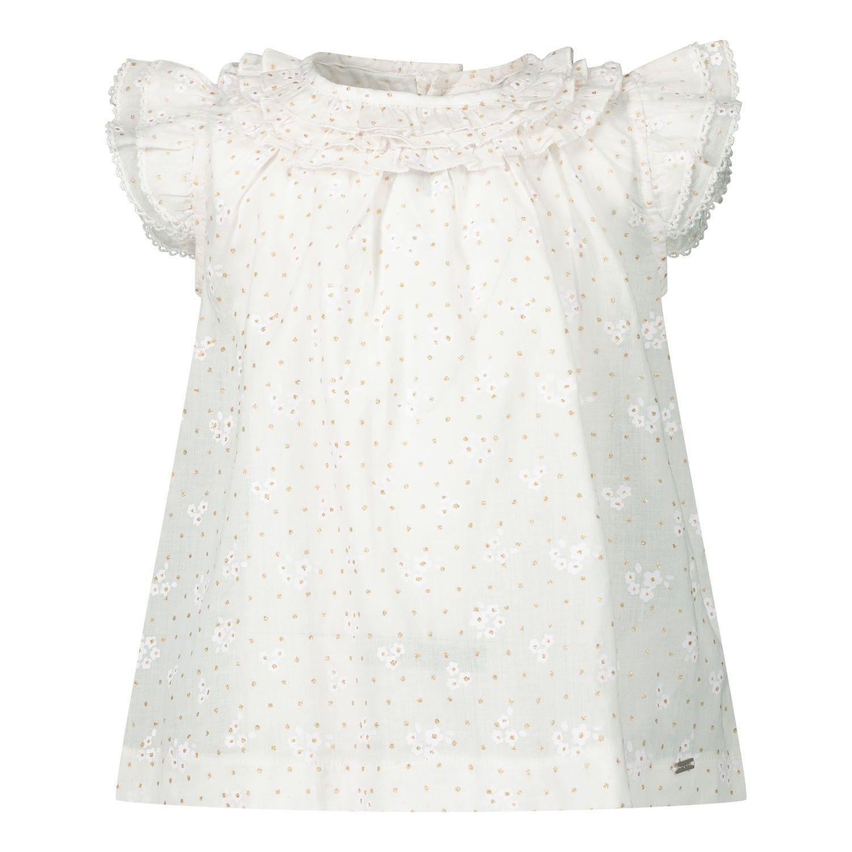 Afbeelding van Mayoral 1169 baby blouse wit