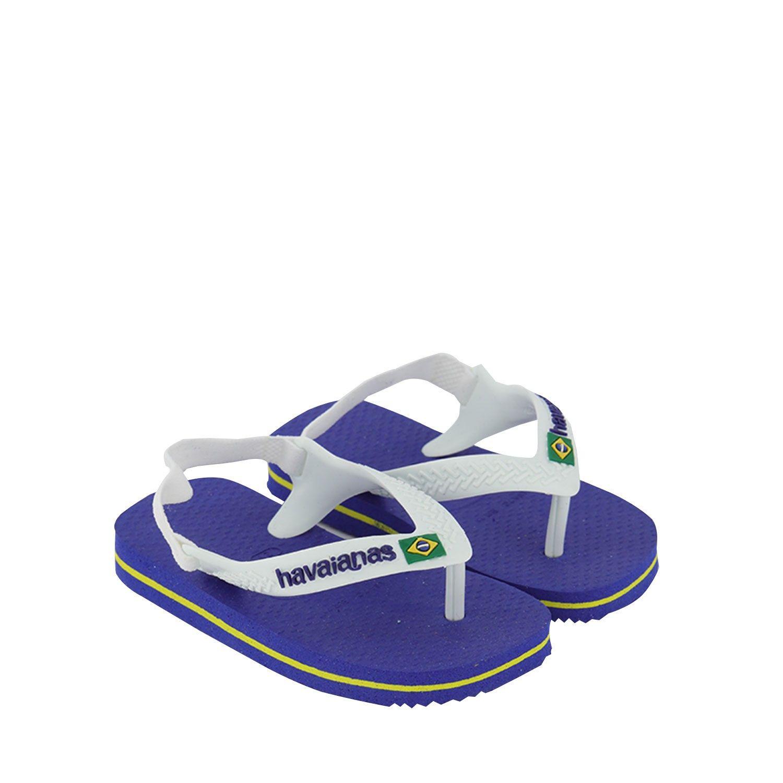 Afbeelding van Havaianas 4140577 kinderslippers blauw/wit